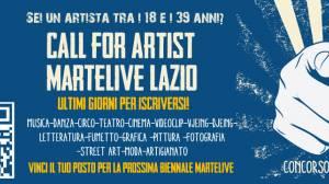 Open Call MArteLive Lazio