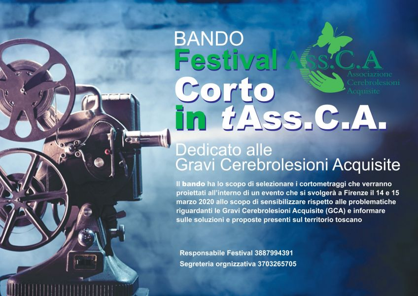 "Logo of Festival ""Corto in t Ass.C.A."""