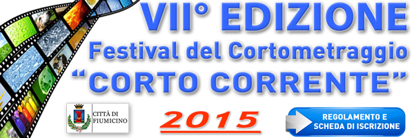 Logo of Festival Corto Corrente Città di Fiumicino
