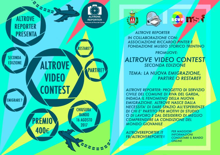 Logo of Altrove Video Contest