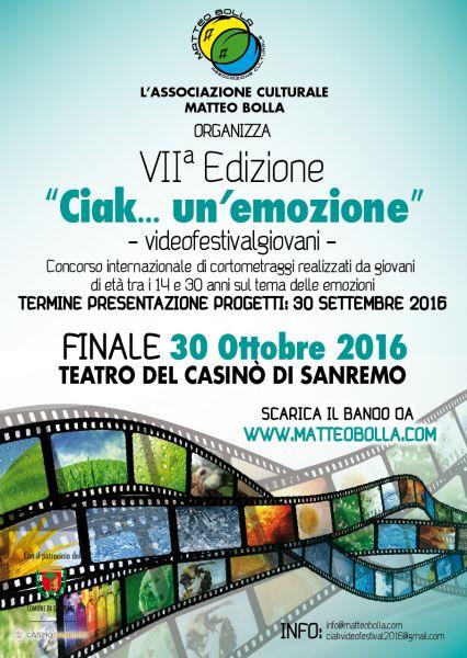 Logo of ciak..un emozione videofestivalgiovani
