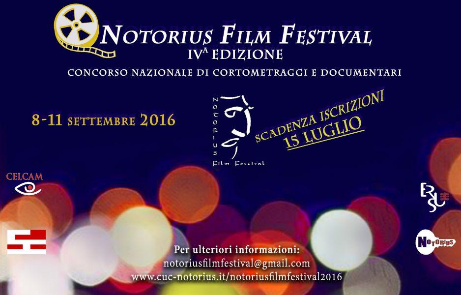 Logo of Notorius Film Festival