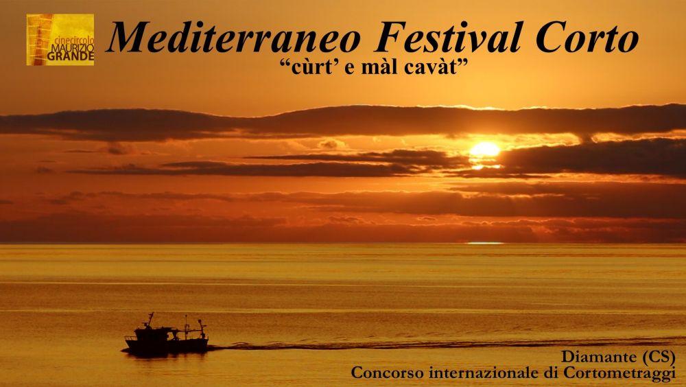 "Logo of Mediterraneo Festival Corto ""Cùrt e màl cavàt"""