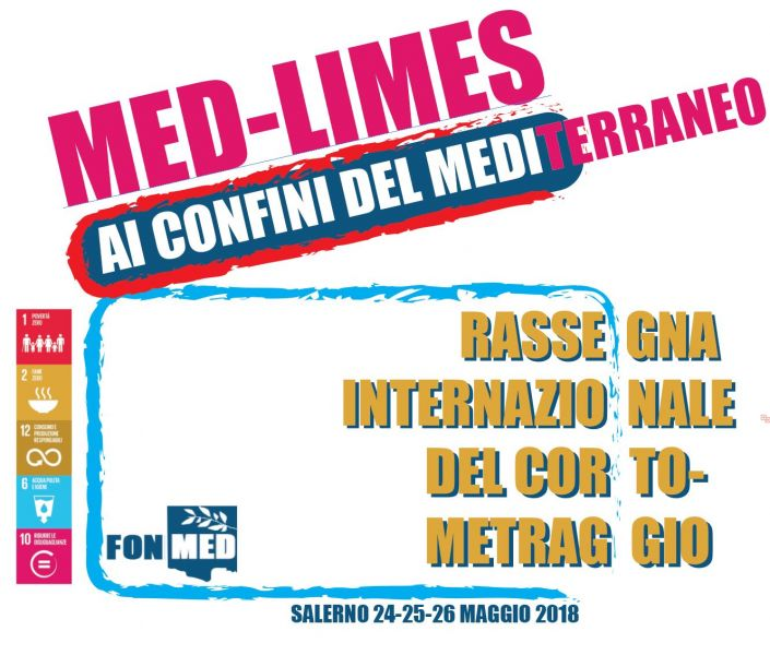 "Logo of MED-LIMES ""Ai Confini del Mediterraneo"", Immagini e racconti dei confini del Mediterraneo"