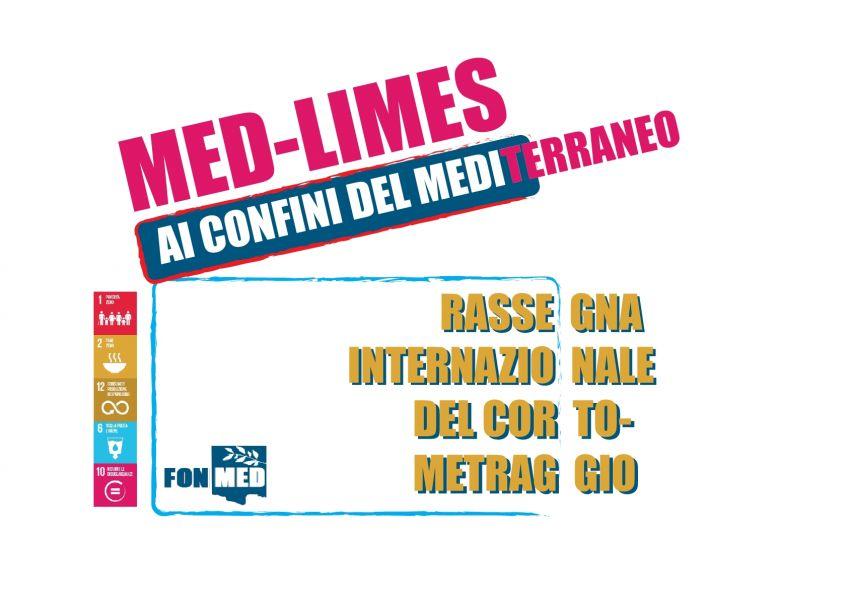 "Logo of MED-LIMES ""Ai Confini del Mediterraneo"", Immagini e racconti dai confini del Mediterraneo"
