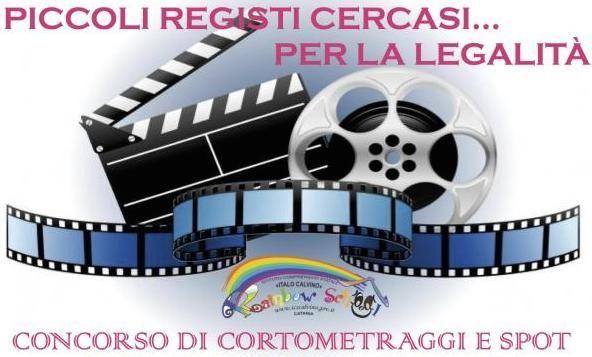 """Logo of """"Piccoli registi cercasi… per la legalità"""""""