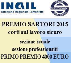 Logo of Premio nazionale Marco Sartori - Cortometraggi sulla sicurezza sul lavoro