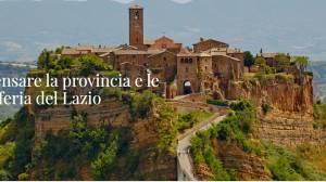 Call For Artist per CortoLive Ripensare le provincie e le periferie del Lazio attraverso la realizzazione di cortometraggi cinematografici.