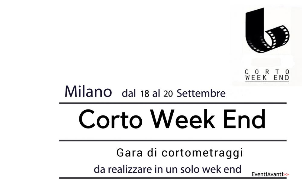 Logo of Gara di cortometraggi- CORTO WEEK END-Milano dal 18 al 20 Settembre