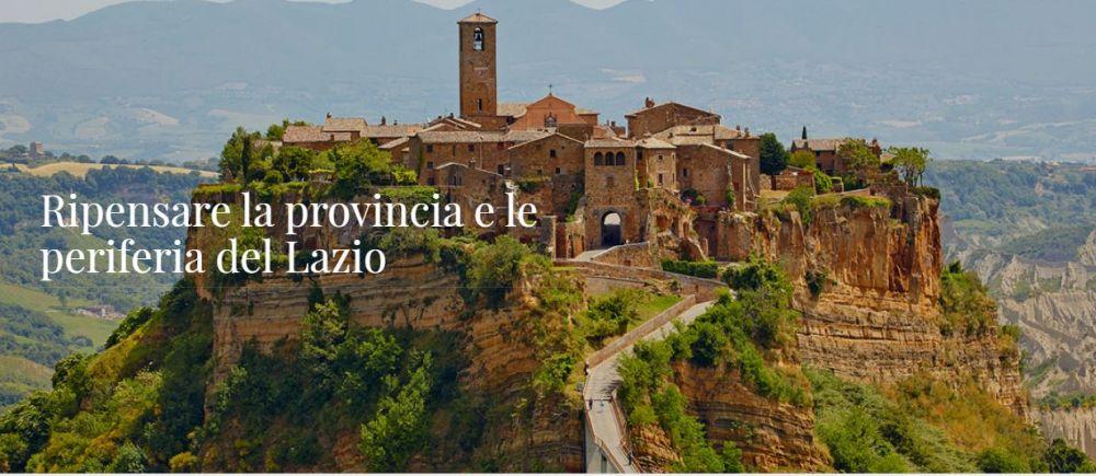 Logo of Call For Artist per CortoLive Ripensare le provincie e le periferie del Lazio attraverso la realizzazione di cortometraggi cinematografici.