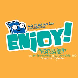 Logo of ENJOY! ANIMATED SHORT FILM CONTEST 2015