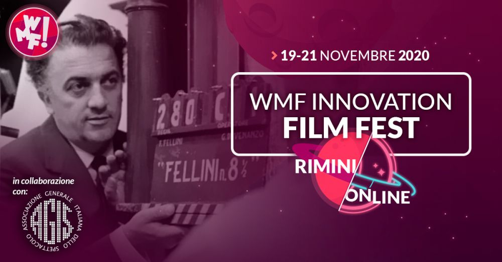 Logo of WMF Innovation Film Fest