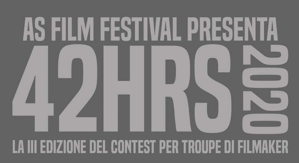 Logo of 42HRS contest per troupe di filmaker