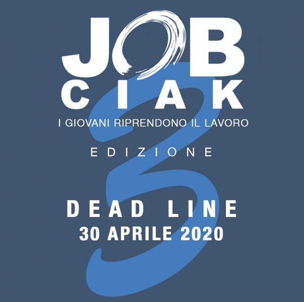 Logo of JOB CIAK - I GIOVANI RIPRENDONO IL LAVORO