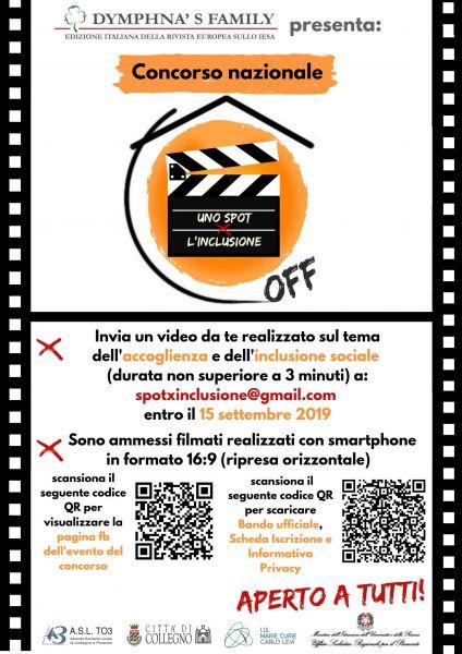 Logo of Uno Spot x l'Inclusione - OFF
