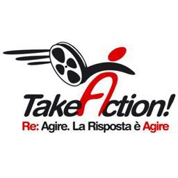 """Logo of """"Take... Action!"""""""