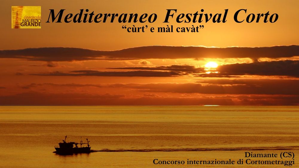 Logo of Mediterraneo Festival Corto (cùrt' e màl cavàt)