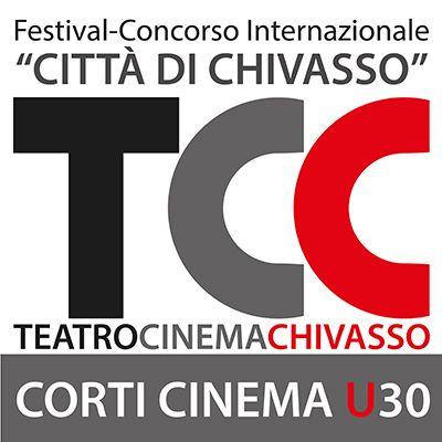 """Logo of Festival concorso """"Città di Chivasso"""" - CortiCinema U30 3° EDIZIONE"""