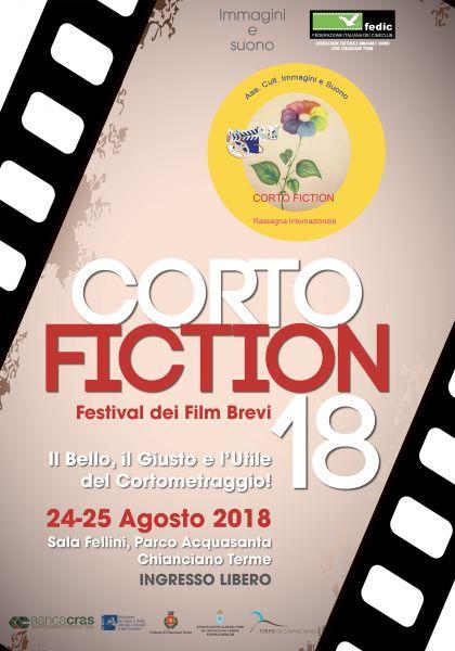 Logo of 18° CORTO FICTION CHIANCIANO TERME