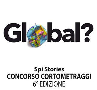 "Logo of Spi Stories 2018 ""Global?"""